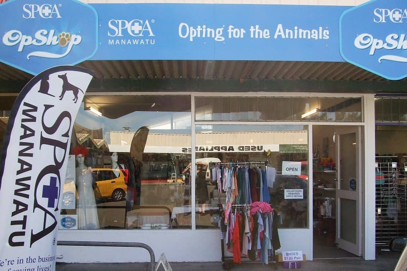 Service: Palmerston North Op Shop • SPCA New Zealand